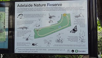 Adelaide Nature Reserve - Noticeboard