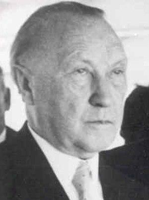 History of Germany (1945–90) - Konrad Adenauer