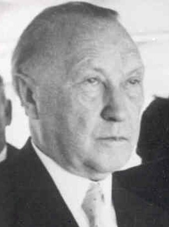 History of Germany (1945–90) - Konrad Adenauer