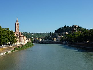 Etsch in Verona