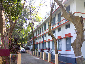 Government College of Engineering & Textile Technology Serampore - Administrative building