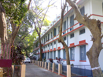 Serampore - Administrative building of Government College of Engineering & Textile Technology, Serampore