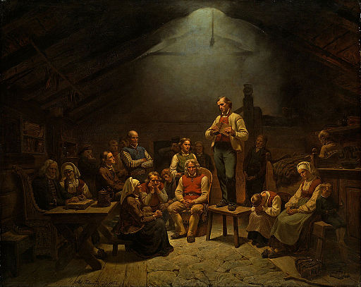 Adolph Tidemand - Low Church Devotion - Google Art Project (9QGXjFzX4Caijw)