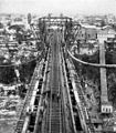 Aerial view of the conversion of Niagara Falls Suspension Bridge.jpg