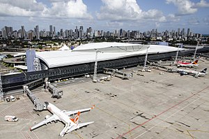 Recife/Guararapes–Gilberto Freyre International Airport - Image: Aeroporto Internacional de Guararapes
