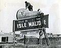 Affiche à l'entrée de la ville d'îsle-Maligne.jpg