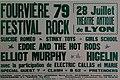 Affiche festival rock en 1979 au théâtre antique de Fourvière (Lyon capitale du rock - 1978-1983).jpg