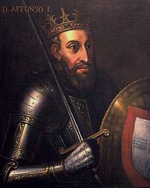Portuguese House of Burgundy - King Afonso I, the first King of Portugal