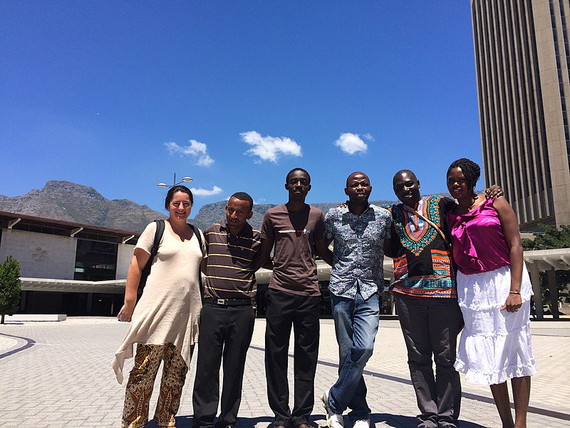 File:Africa Wikipedians at WikiAfrica training.JPG