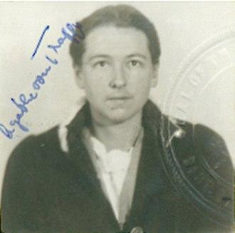 Agathe von Trapp - Agathe in 1948