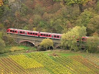 Ahr Valley Railway German railway line