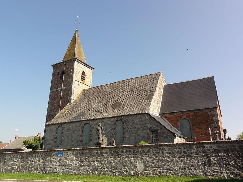 Aibes (Nord, Fr) église