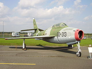 1961 F-84 Thunderstreak incident