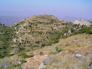 Taiz Governorate - Image: Al Ghawl Village panoramio