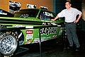 Al Young with Championship Dodge Challenger Drag Car at MOHAI.jpg