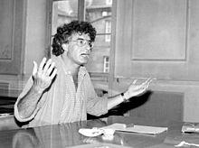 Alain Krivine, otro líder estudiantil, aquí en 1982.
