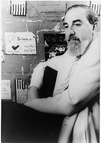 Al Hirschfeld - Al Hirschfeld photographed by Carl Van Vechten, 1955