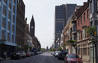 Teesside - Middlesbrough is the largest settlement in the conurbation