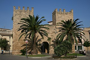 Alcúdia - Gate of the city walls