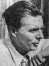 Photograph of Aldous Huxley.