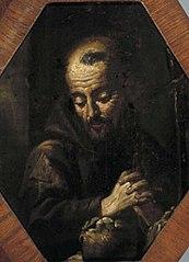 Monnik in gebed
