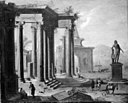 Alessandro Salucci - Colonade in Ruins - KMSst77 - Statens Museum for Kunst.jpg