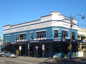 Alexandria, New South Wales - Image: Alexandria Parkview Hotel