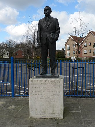 Portman Road - Statue of Sir Alf Ramsey