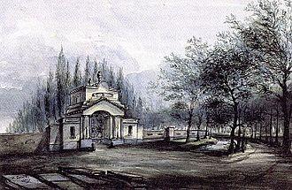 Crooswijk - Image: Algemene Begraafplaats Crooswijk 1832