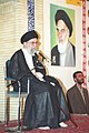 Ali Khamenei meet up with families of martyrs and veterans in Torbat-e Jam 03.jpg