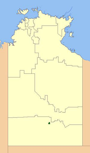 Town of Alice Springs - Location of Alice Springs Town Council