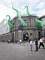 Aliens attack Plaza de Armas church - Quito Ecuador (4870165085).jpg