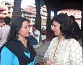 Alka Saraogi and Geeta Tripathee.jpg