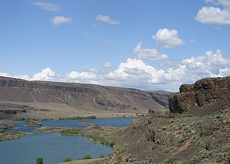 Columbia Plateau (ecoregion) - Ice Age floods cut coulees into the basalt of the channeled scablands (ecoregion 10a)