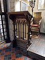 All Saints Church, Middle Claydon, Bucks, England - reading desk.jpg