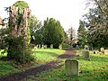 All Saints Church - churchyard - geograph.org.uk - 1070147.jpg