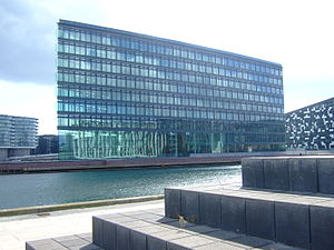 Aller Media - The Aller building on Havneholmen in Copenhagen