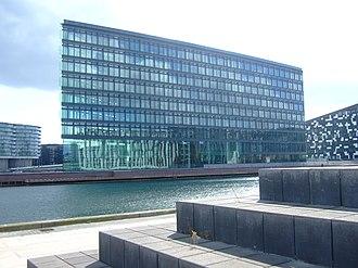 Aller Media - The Aller building on Havneholmen in Copenhagen