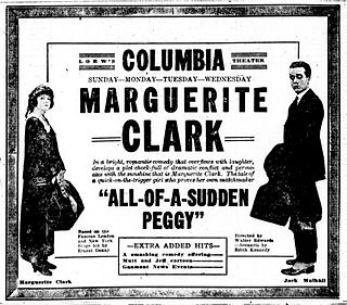 <i>All of a Sudden Peggy</i> 1920 film by Walter Edwards
