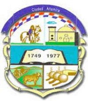 Altamira, Tamaulipas - Image: Altamira tamaulipas escudo