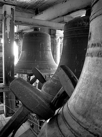 Altgeld Hall - Bells in Altgeld Hall Tower