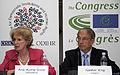 Ambassador Audrey Glover, Head of the ODIHR delegation and Günther Krug, Head of the Congress Election Observation Delegation.jpg