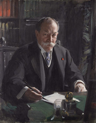 David Jayne Hill - Image: Ambassador David Jayne Hill by Anders Zorn (1860 1920)