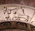 Ambito di wiligelmo, porta della pescheria, 02 ciclo di artù 04,1.jpg