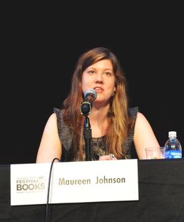 Maureen Johnson American author