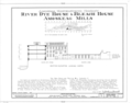 Amoskeag Mills, River Dye House and Bleach House, Bridge Street at Merrimack River, Manchester, Hillsborough County, NH HABS NH,6-MANCH,2-1C- (sheet 1 of 1).png