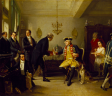 Amschel Mayer Rothschild (1773-1855) returning the Inventory of the Elector of Hessew who refuses it.png