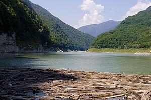 Lake Amtkeli - Image: Amtkeli