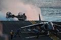 An LCAC approaches USS Bataan. (10539921184).jpg