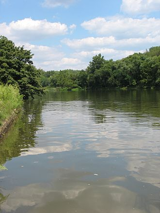 Anacostia River - Anacostia River adjacent to the United States National Arboretum